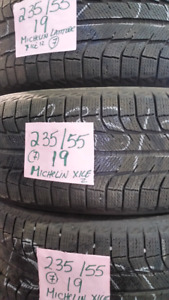 great 19 inch michelin winter tires 235/55/19
