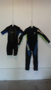 Two Wet Suits for Water Sports (Men Medium).
