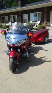 Honda Goldwing 1800 with Trailer