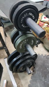 "2"" Olympic Weight Plates"