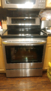 Stainless steel LG stove, 5 months old!  $800 obo