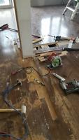 Floor repairs