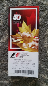 Up to 9 Formula 1 Montreal Tickets - Grandstand 11 - Friday 9