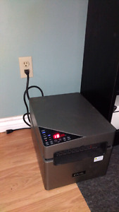 Classic Infrared Heater with Air Purifier and remote