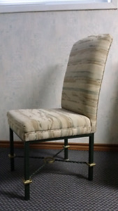 Dining Room chairs - Steel Frames