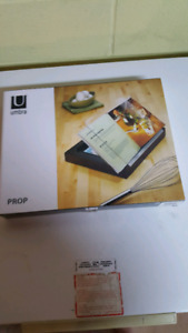 Umbra cook book stand - brand new in box!