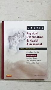 Physical Examination and Health Assessment, 2nd Cdn Ed.