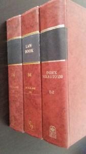 Law Books, 5$ each (5$ chacun)