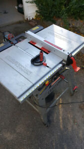 10 inch Craftsman Table Saw with Miter Gauge