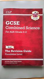 CGP GCSE Combined science AQA Foundation level