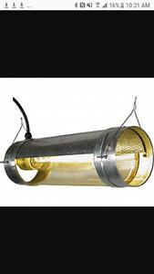 "6"" cool tube reflectors for grow light hydroponics"