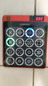 Red Flashpad Infinite Electronic Game QVC Handell Model 33800