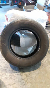 lightly used P215/65 R16 Toyo Celsius tires