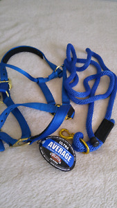 Halter & Lead rope NEW
