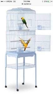 Looking for bird cage with stand