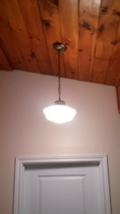 Hanging Ceiling Light with Chain