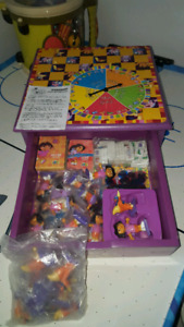 Dora game table and storage
