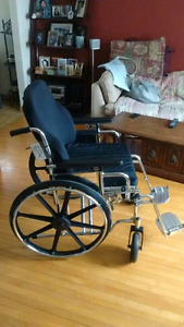Breezy EC 2000 HD wheelchair w/ROHO cushion