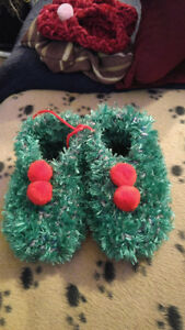Kids hand Knitted slippers
