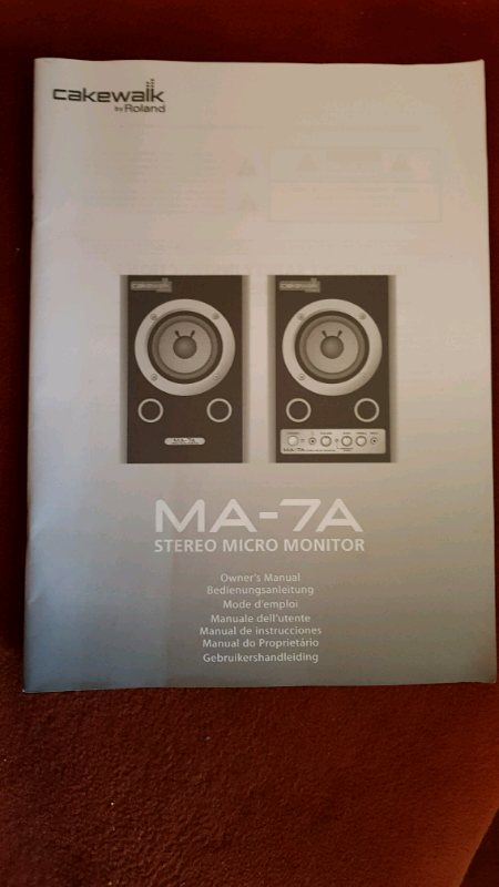 For sale Roland Cakewalk Active Monitor Speakers | in Moortown, West  Yorkshire | Gumtree