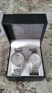 NEW! Caravelle New York Watch set for Mens and Ladies Kitchener / Waterloo Kitchener Area image 1