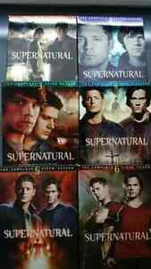 SuperNatural Series 1 to 6