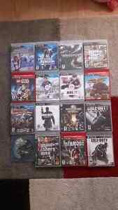 PS3 with 3 controllers,PS move and 16 games West Island Greater Montréal image 3