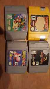 Nintendo 64 and SNES games for sale or trade
