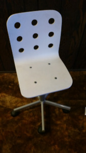 Ikea swivel and height adjustable desk chair