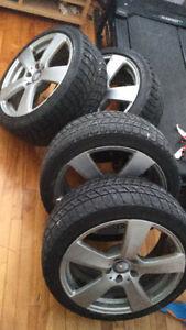 """Mercedes OEM 18"""" wheels / Bridgestone Blizzak"""