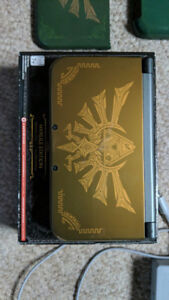 Hyrule edition new 3ds xl and games