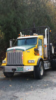 2012 Kenworth T800B Extended Cab