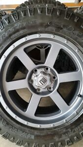 4 NEW FRD TR4 WHEELS WITH GOODYEAR DURATRACS 265/65/18