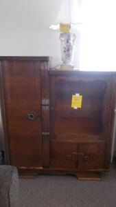 Antique cabinet in excellent shape. Only $299.