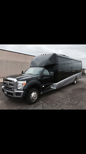 2014 Ford F-550 Grech Shuttle Bus