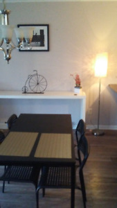 Bright furnished Vaudreuil condo short term - serious renters