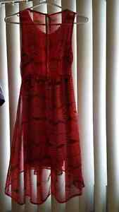 Gently used Ardene Red Dress size small