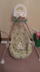 Fisher price 2 in 1 cradle and swing