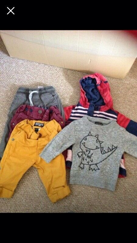 Next boys bundle 3-6 months