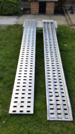New 2x3m Aluminium loading ramps for recovery trucks/ plant trailer.