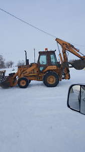Case 780 B Backhoe
