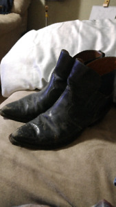 Mens ankle boots by Boulet canada