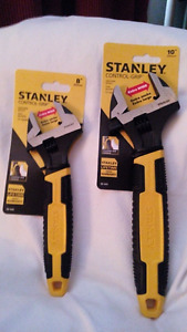 "AWESOME DEAL ON STANLEY 8"" AND 10"" WRENCHES"