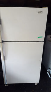 Fridge 200.00, white, clean, frost free, works well, Delivery av