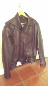 Brand New Men's Leather Motorcycle Jacket