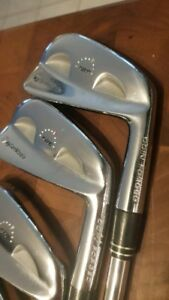 Taylormade, tp rac ping, titleist, Nike forged irons