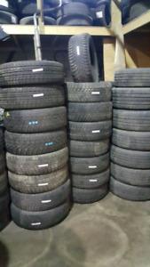 A vendre pneus usages