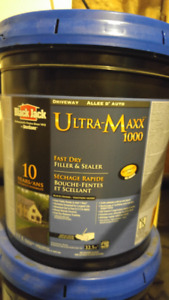 2 buckets of driveway sealer for sale, NEW