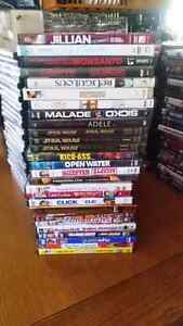 200+ DVDS that need a good home!