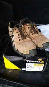 Terra work boots - shoes are 1 year old.  Good condition